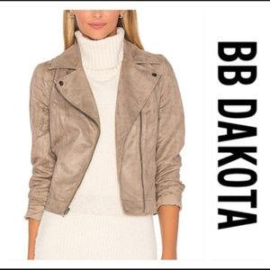 Jack BB Dakota Marilou Faux Suede Jacket Blazer